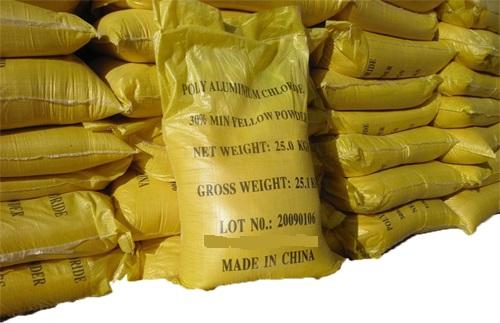 Poly alumonium chloride (P.A.C)
