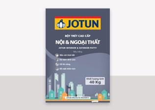 Jotun Putty Int & Ext - Bột trét nội & ngoại thất màu trắng (40Kg)