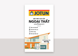 Jotun Putty Exterior - Bột trét ngoại thất màu xám (40Kg)