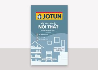 Jotun Putty Interior - Bột trét nội thất màu trắng (40Kg)